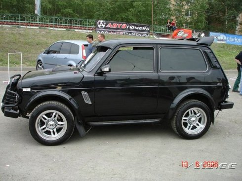 Automobile lada tuning topical news of lada volga vaz for Interieur lada niva